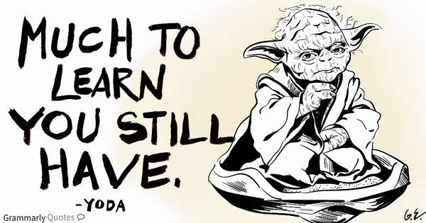 Odd Sentence structure you use - Yoda