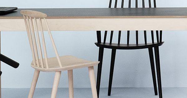 La chaise j77 par hay le design vintage confort et for Recherche chaises