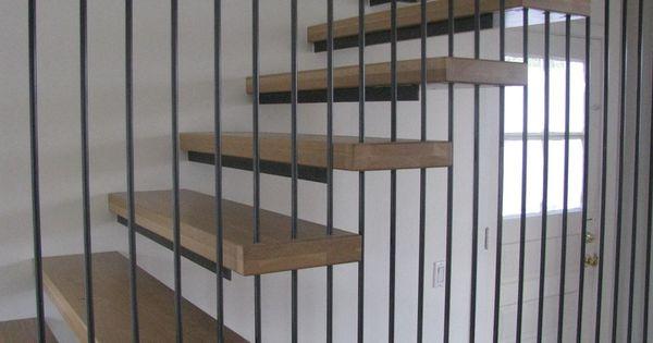 Best Detail Of Suspended Stair Metal Railings Pinterest 400 x 300