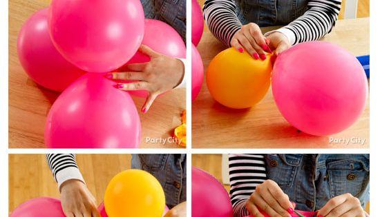 Balloons flower balloons