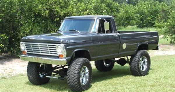 1967 ford truck  1967 Ford F100 Bring on the mud and the hills