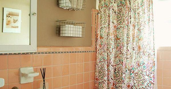 Bathroom Redo: Grouted Peel And Stick Floor Tiles