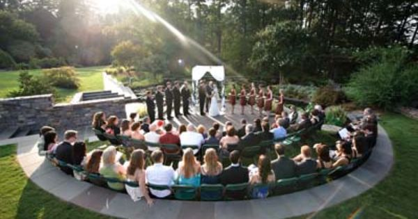 a small amphitheater can be good for weddings and outdoor speaking events or music the property pinterest unique weddings and wedding venues