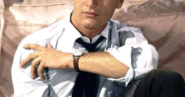 Skinny tie - Paul Newman