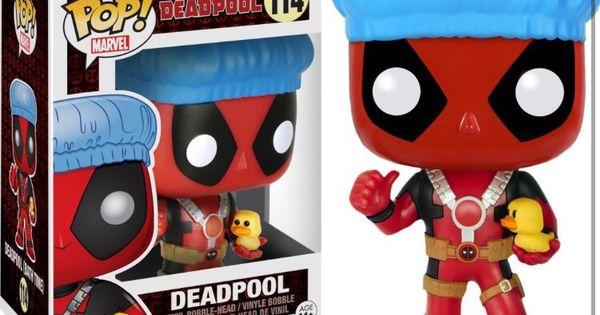 31118-Funko Pop Marvel Deadpool Playtime-Deadpool dans une robe POP Vinyle