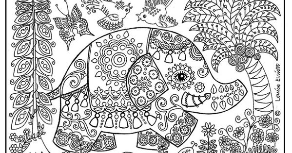 Printable Detailed Coloring Pages | print it / Detailed coloring pages