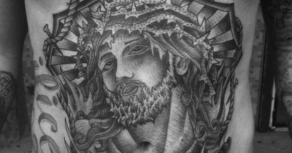 Stomach tattoos tattoos and body art and jesus on pinterest