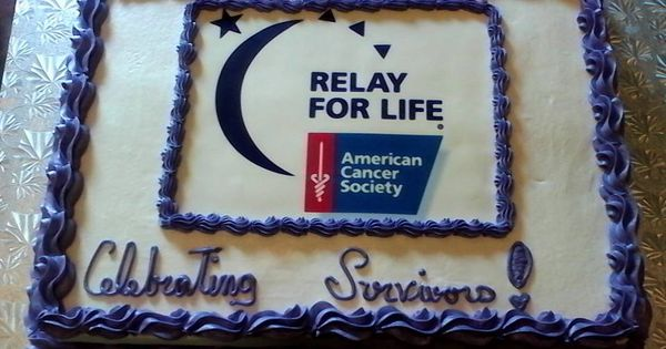relay for life cake | Tammys Cup-Cakery!! | Pinterest ...  relay for life ...