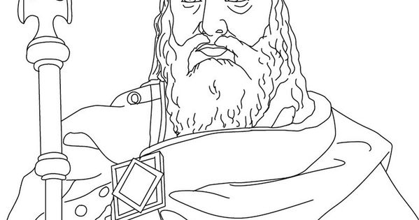 Charlemagne Coloring Page Helpful early learning work ...