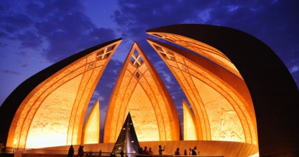 National Monument In Islamabad That Represents The Four Provinces