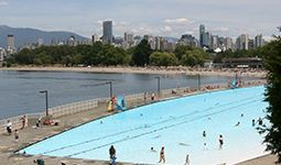 Kitsilano Pool Vancouver Vacation Pool City Pool