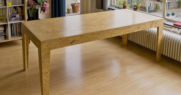 osb table osb wood pinterest plywood woods and osb plywood. Black Bedroom Furniture Sets. Home Design Ideas