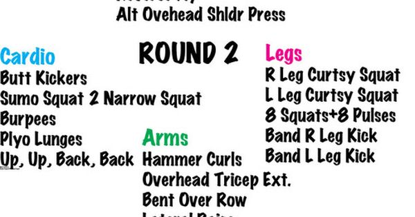 45 minute circuit workout  cardio  arms  legs