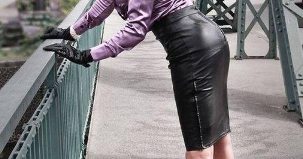 1 tumblr satin 17 pinterest tight pencil skirt