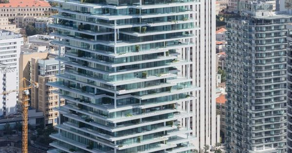 Herzog de meuron iwan baan beirut terraces towers for Terrace beirut