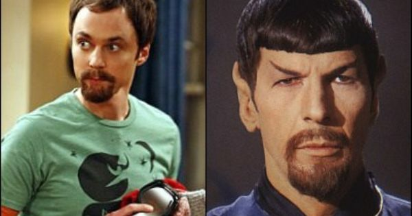 Pics For > Leonard Nimoy Sheldon Cooper