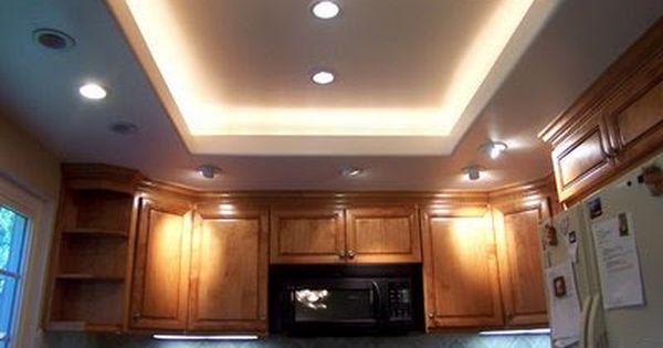 Replacing 80 S Flourescent 2 Tube Kitchen Light Kitchen Ceiling Design Kitchen Ceiling Lights Kitchen Ceiling