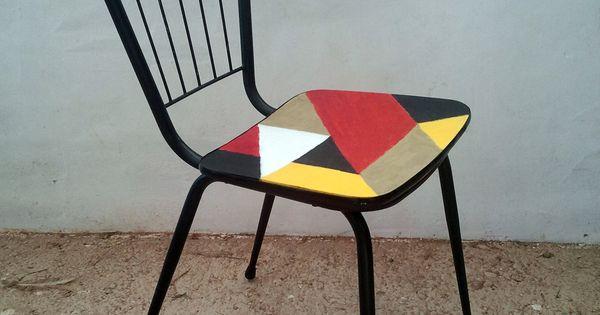 Plumas de papel sillas cristina ome aca sillas de - Sillas anos 60 ...