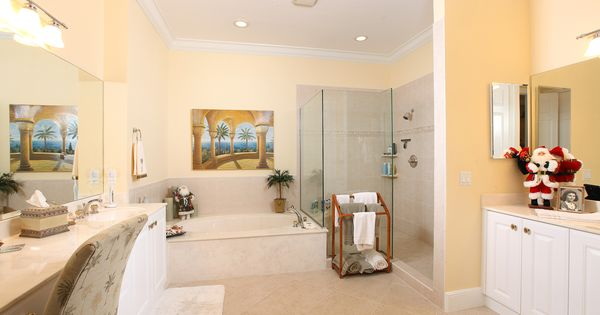 with dual sinks and lots of room. | 9062 Cascada Way #202 Naples, FL ...