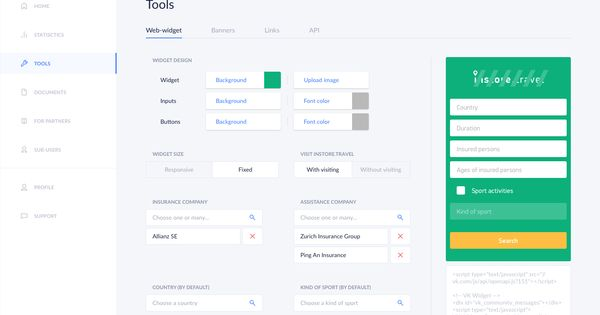 Admin Panel For Insurance Project Desktop On Behance Admin