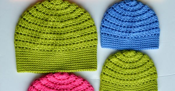 Mango Tree Crafts Free Basic Beanie Crochet Pattern All