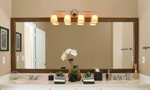 Best Bathroom Lights Over Mirror, Can Vanity Lights Hang Over Mirror