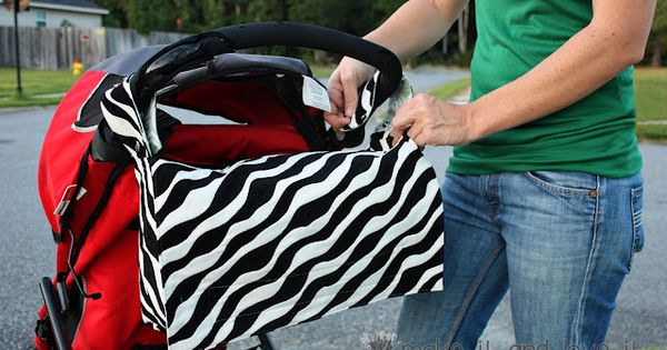 2 in 1 bag: stroller bag into a messenger bag, tutorial