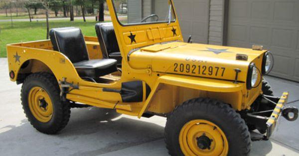 Craig Strub Vintage Jeep Willys Jeep Jeep Cj