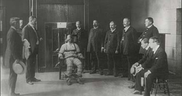 Albert Fish Elektrikli Sandalye Tesla Prison Photo