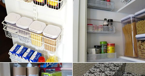 16 pantry organization ideas you don 39 t want to miss for 34 insanely smart diy kitchen storage ideas