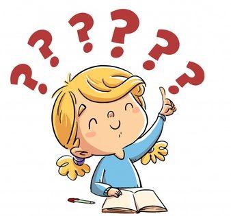 Little Girl Who Knows An Answer Kids Cartoon Characters Cartoon Kids Cartoon Clip Art