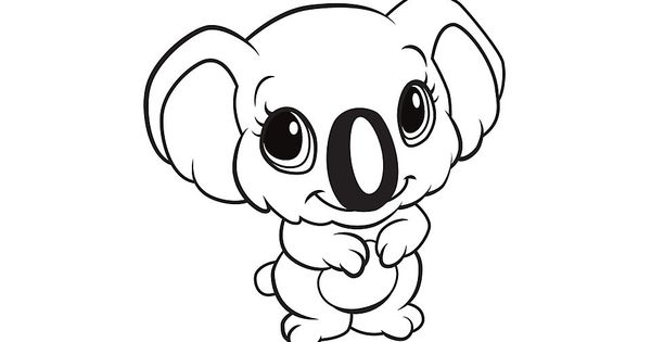 learning friends koala coloring printable from leapfrog the learning friends prepare kids for. Black Bedroom Furniture Sets. Home Design Ideas