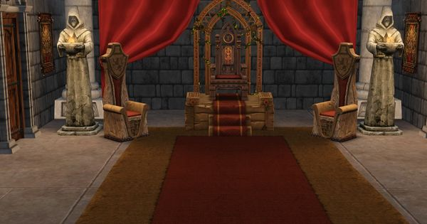 Medieval Castle Rooms | Saturn Celeste's Sims Medieval ...