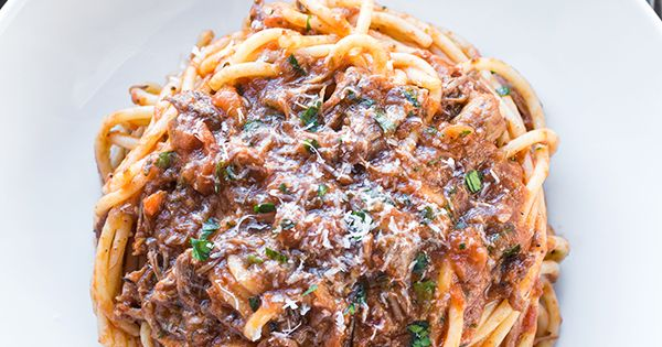 Braised beef, Spaghetti and Beef on Pinterest