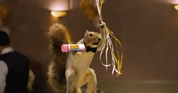 Pepto Bismol Squirrel At A Wedding Party Commercial