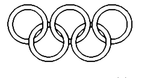 Ancient Greek Olympics Coloring Pages Olympic Rings Coloring