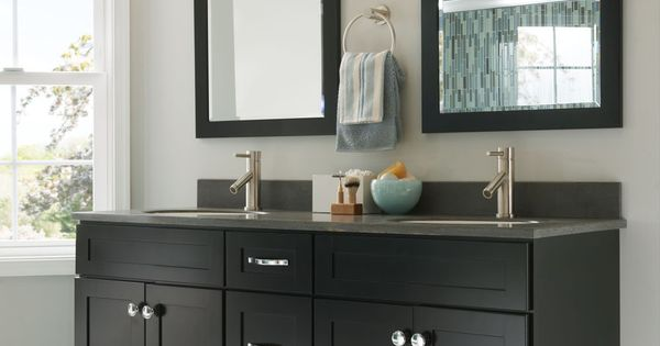 One of many design ideas for your bathroom from kraftmaid for Kraftmaid bathroom designs