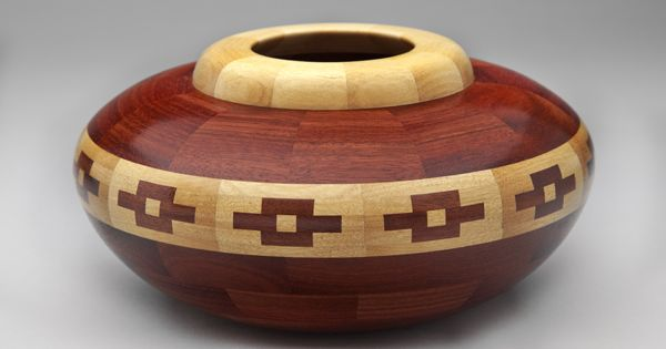 Bloodwood And Yellowheart Bowl Art Pinterest Bowls