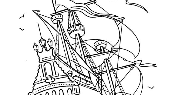 Coloring Pages Disney Pirates Caribbean : Free disney pirate printables these caribbean pirates of