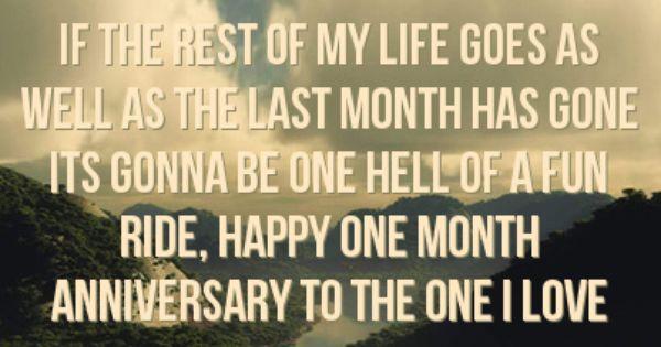 Happy Facebook Status 651505 Facebook Statuses One Month Anniversary One Month Anniversary Quotes Happy One Month Anniversary