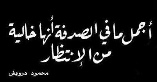 اجمل مافي الصدفة انها خالية من الانتظار Cool Words Arabic Quotes Thoughts Quotes