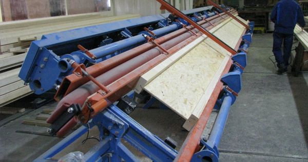 Poutre en i trica presse fabrication construction for Fabrication presse hydraulique maison