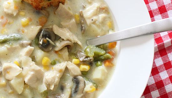 Chicken Pot Pie Soup - Chicken pot pie is ultimate comfort food!