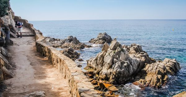 Hiking Camino De Ronda From Lloret To Tossa Spain Photography