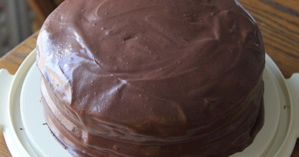 Oh She Glows Double Layer Chocolate Fudge Cake