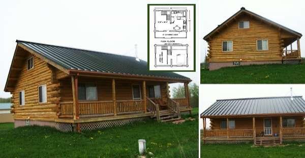 Log Home Floor Plans Log Cabin Kits Appalachian Log Homes Cabin House Plans Cabin Plans With Loft Log Cabin Floor Plans