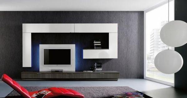 Mobiliario salon moderno departamento pinterest for Mobiliario salon moderno