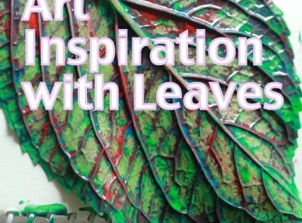 Open-ended Art, Printing and Stamping Ideas with Leaves