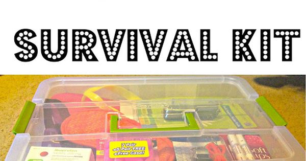 Our Lives Are An Open Blog : Freshman Year Survival Kit -