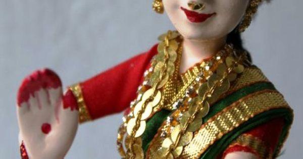 Bharatanatyam Dancer | Golu dolls/ Papiermache dolls